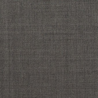 ウール&ポリウレタン×無地(チャコールグレー)×ポプリンストレッチ サムネイル1