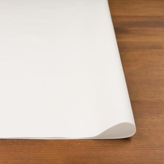 コットン×無地(オフホワイト)×タッサーポプリン_イタリア製 イメージ3
