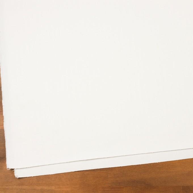 コットン×無地(オフホワイト)×ヘリンボーン イメージ2