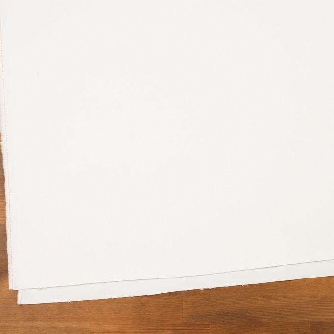 コットン&ポリウレタン×無地(オフホワイト)×カツラギストレッチ_イタリア製 イメージ2