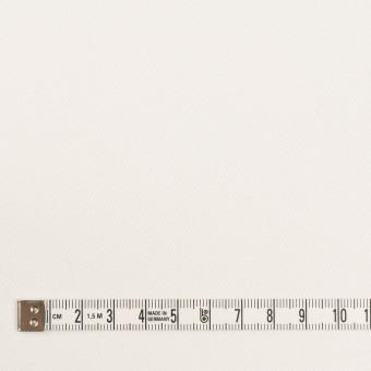 コットン&ポリウレタン×無地(オフホワイト)×カツラギストレッチ_イタリア製 サムネイル4