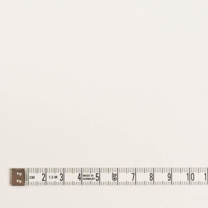 コットン&ポリウレタン×無地(オフホワイト)×カツラギストレッチ_イタリア製 イメージ4