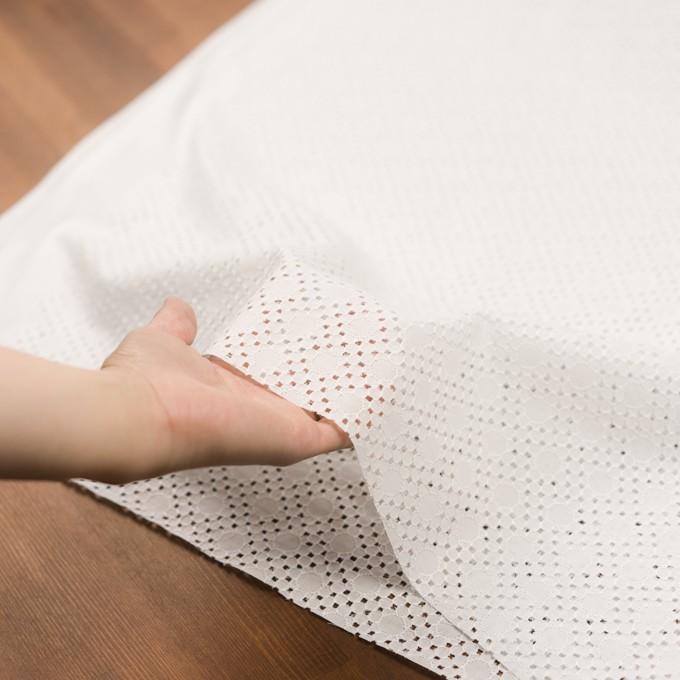 コットン×サークル(オフホワイト)×ローン刺繍_全3色 イメージ5