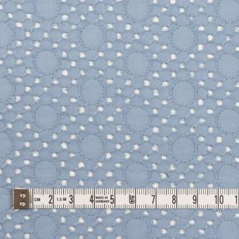 コットン×サークル(フロスティブルー)×ローン刺繍_全3色 サムネイル4