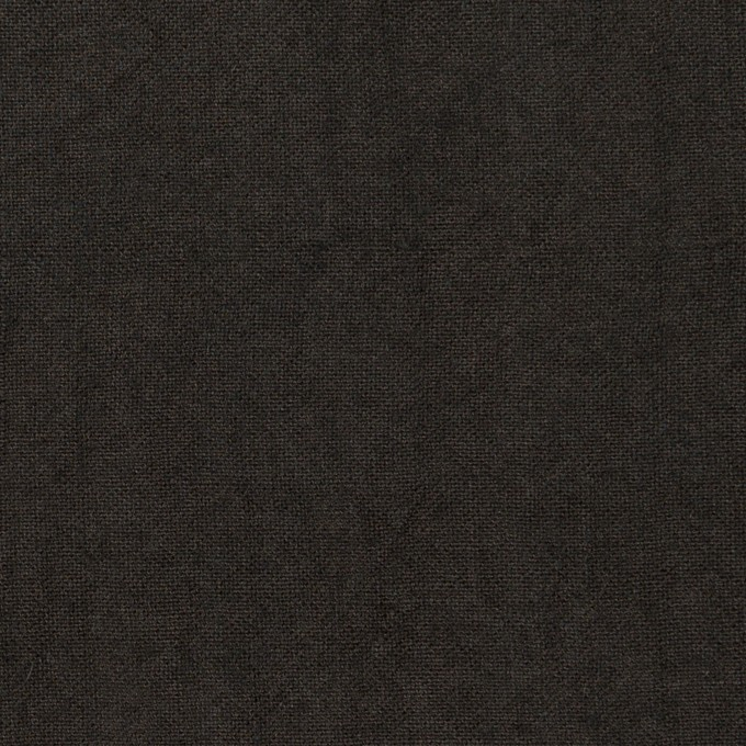 リネン×無地(チャコール)×薄キャンバス・ワッシャー イメージ1