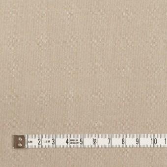 コットン×無地(カーキベージュ)×ダンガリー_イタリア製 サムネイル4