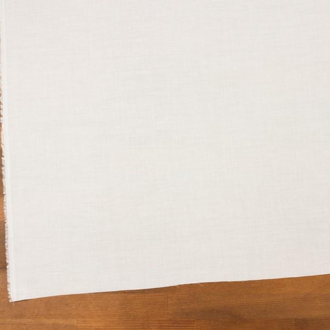 コットン×無地(オフホワイト)×薄サージ_全4色 イメージ2