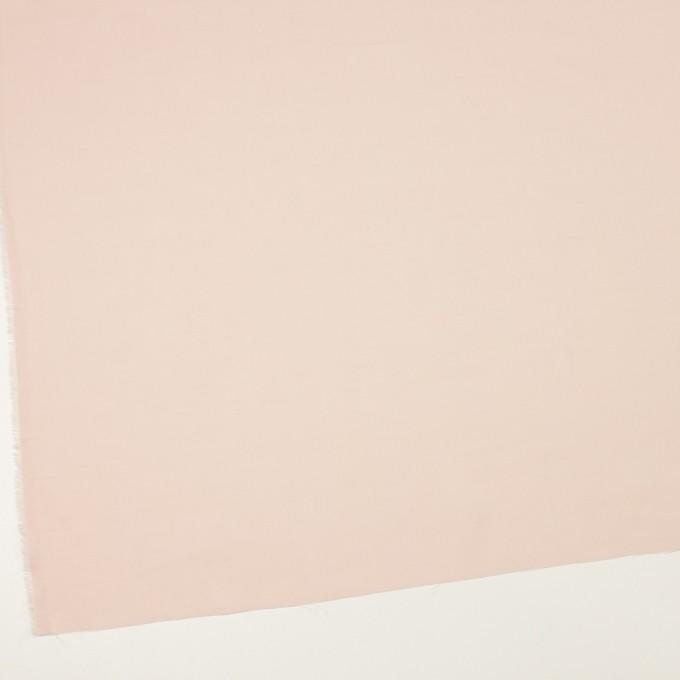 コットン×無地(パウダーピンク)×薄サージ_全4色 イメージ2