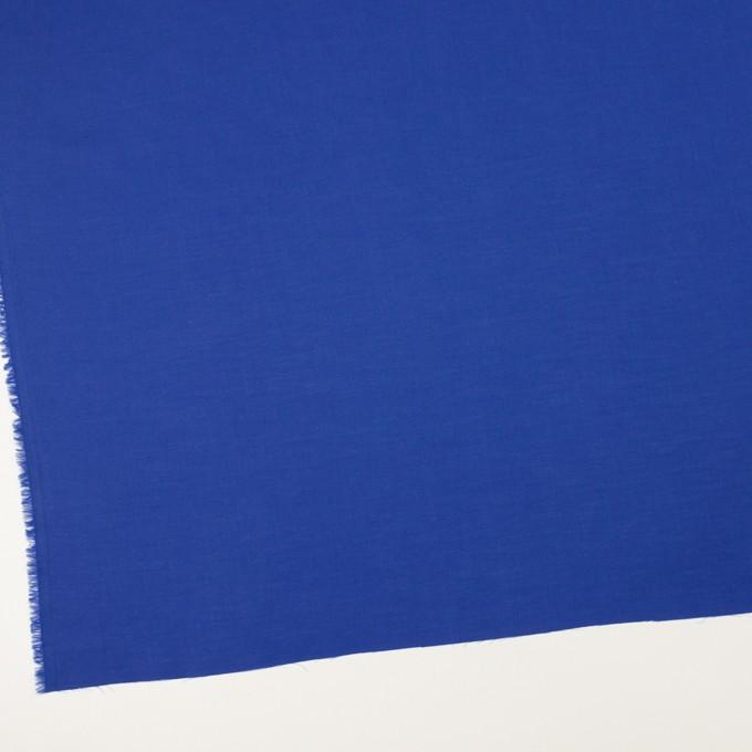 コットン×無地(マリンブルー)×薄サージ_全4色 イメージ2