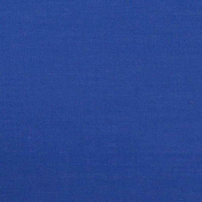 コットン×無地(マリンブルー)×薄サージ_全4色 イメージ1
