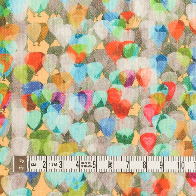 リネン×バルーン(ブルー&ネープルス)×薄キャンバス_全3色 イメージ4