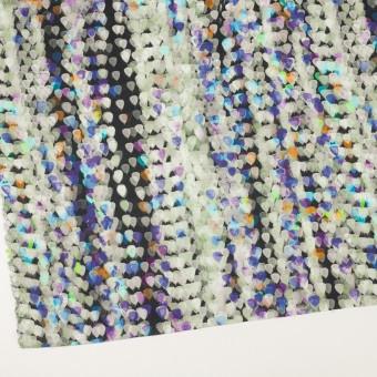 リネン×バルーン(パープル&チャコール)×薄キャンバス_全3色 サムネイル2
