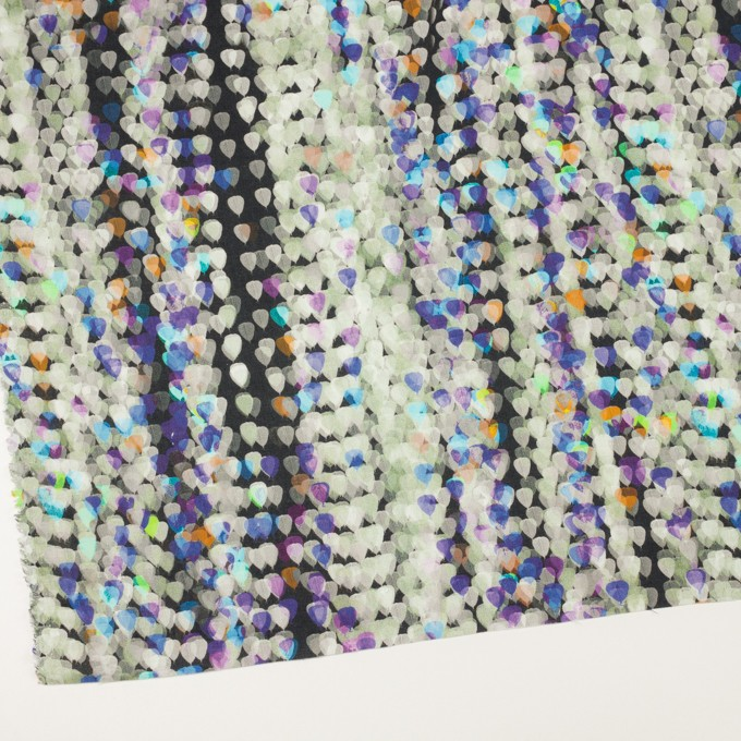 リネン×バルーン(パープル&チャコール)×薄キャンバス_全3色 イメージ2