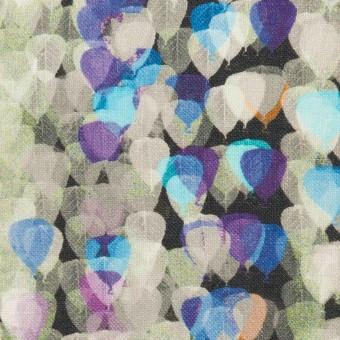 リネン×バルーン(パープル&チャコール)×薄キャンバス_全3色 サムネイル1