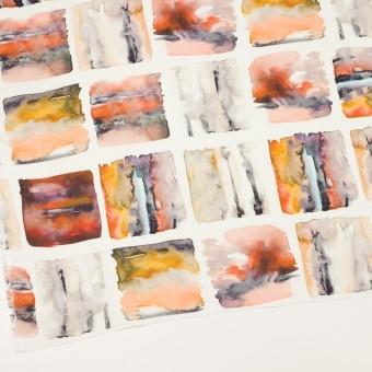 リネン×スクエア(オレンジ)×薄キャンバス_全3色 サムネイル2