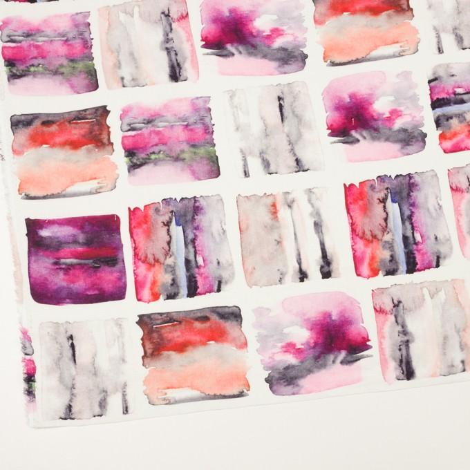 リネン×スクエア(レッド)×薄キャンバス_全3色 イメージ2