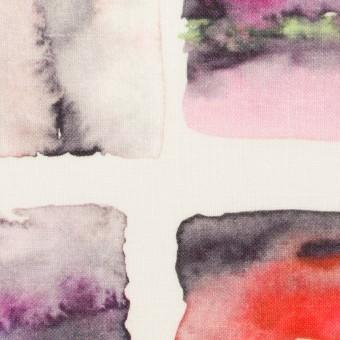 リネン×スクエア(レッド)×薄キャンバス_全3色 サムネイル1