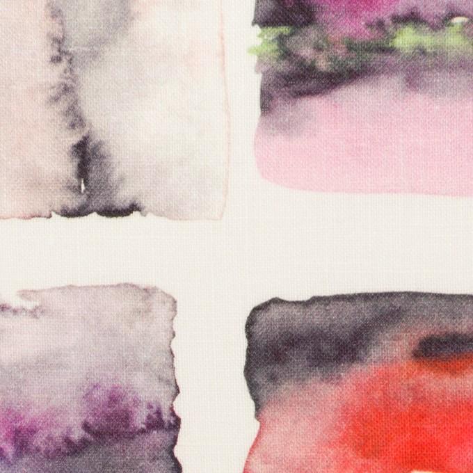 リネン×スクエア(レッド)×薄キャンバス_全3色 イメージ1