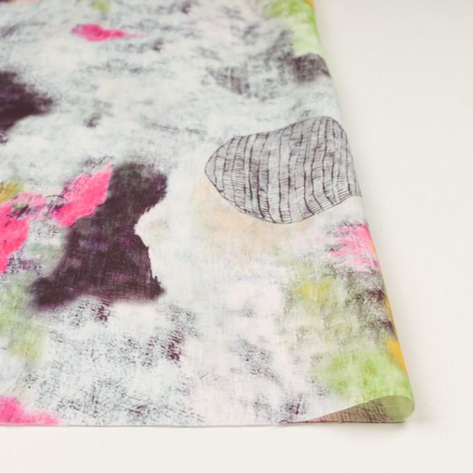 リネン×シェル(ピンク&ライム)×薄キャンバス_全3色 イメージ3