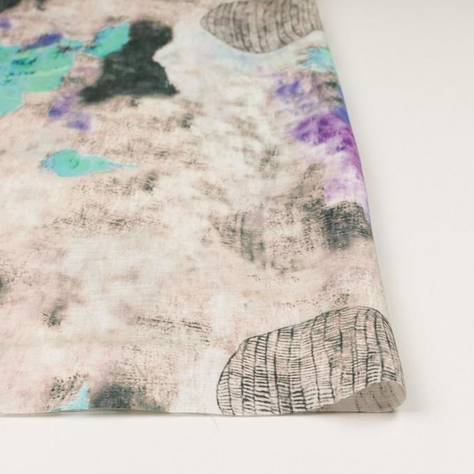 リネン×シェル(サワー&グレープ)×薄キャンバス_全3色 イメージ3