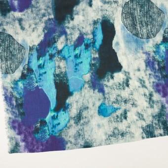 リネン×シェル(エメラルドブルー&パープル)×薄キャンバス_全3色 サムネイル2