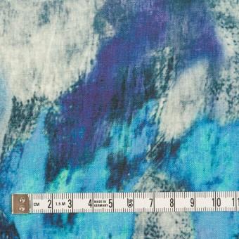 リネン×シェル(エメラルドブルー&パープル)×薄キャンバス_全3色 サムネイル4