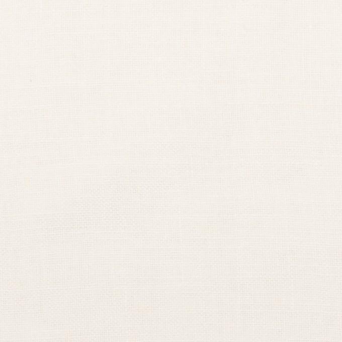 リネン×無地(オフホワイト)×薄キャンバス・ワッシャー イメージ1