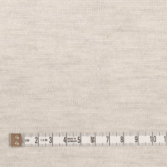 リネン&コットン×無地(パール)×天竺ニット イメージ4
