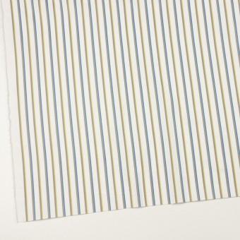 コットン&ポリウレタン×ストライプ(ホワイト&アッシュグレー)×ブロードジャガード サムネイル2
