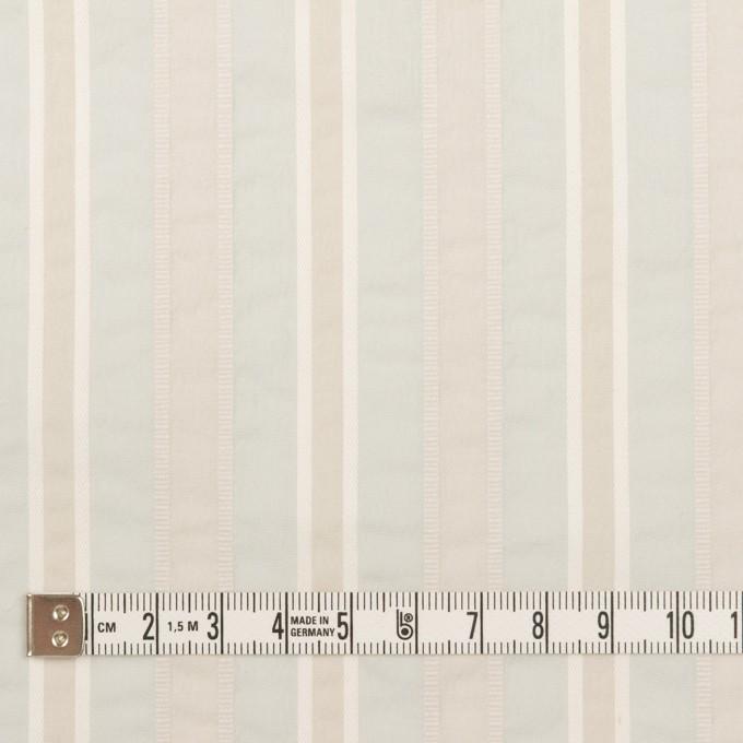 コットン&ポリエステル×ストライプ(パールブルー)×ローンジャガード_全3色 イメージ4