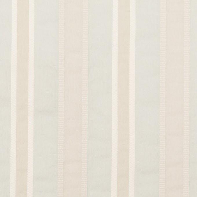 コットン&ポリエステル×ストライプ(パールブルー)×ローンジャガード_全3色 イメージ1