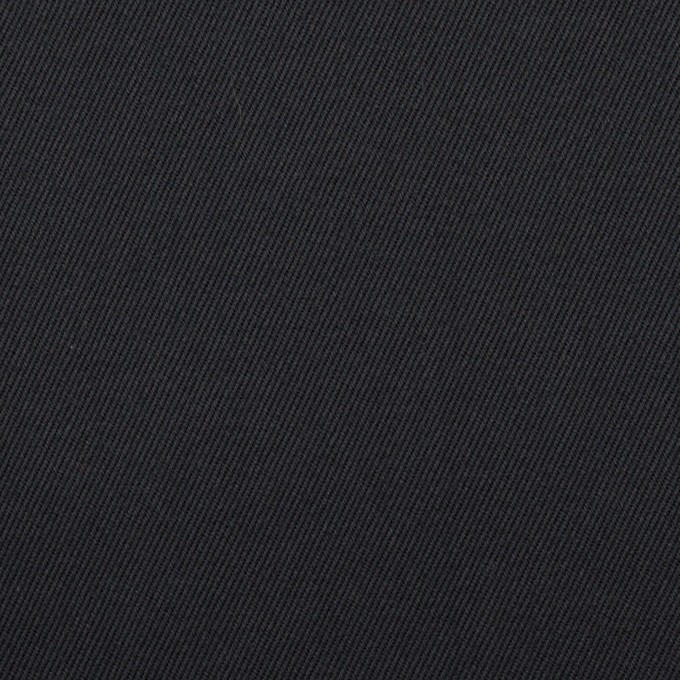 コットン&ポリウレタン×無地(ダークネイビー)×チノクロス・ストレッチ イメージ1