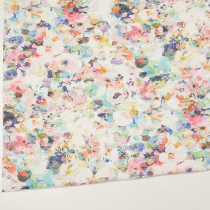 コットン×フラワー(ピンク)×天竺ニット_全3色 イメージ2