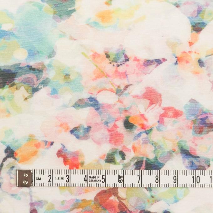 コットン×フラワー(ピンク)×天竺ニット_全3色 イメージ4