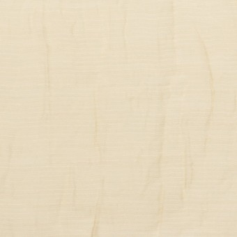 コットン&ナイロン×無地(ベージュ)×オーガンジー・ワッシャー_全3色