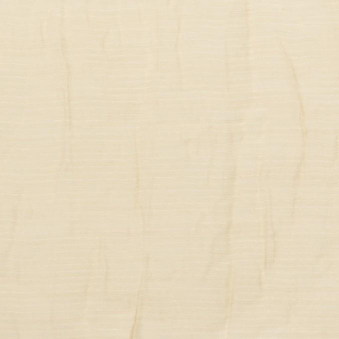 コットン&ナイロン×無地(ベージュ)×オーガンジー・ワッシャー_全3色 イメージ1