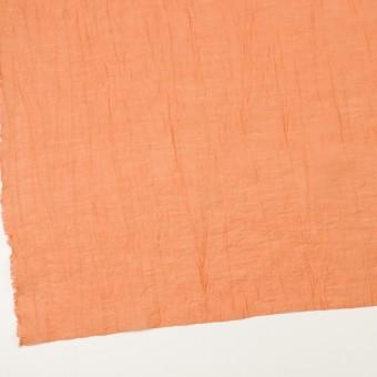 コットン&ナイロン×無地(オレンジ)×オーガンジー・ワッシャー_全3色 サムネイル2