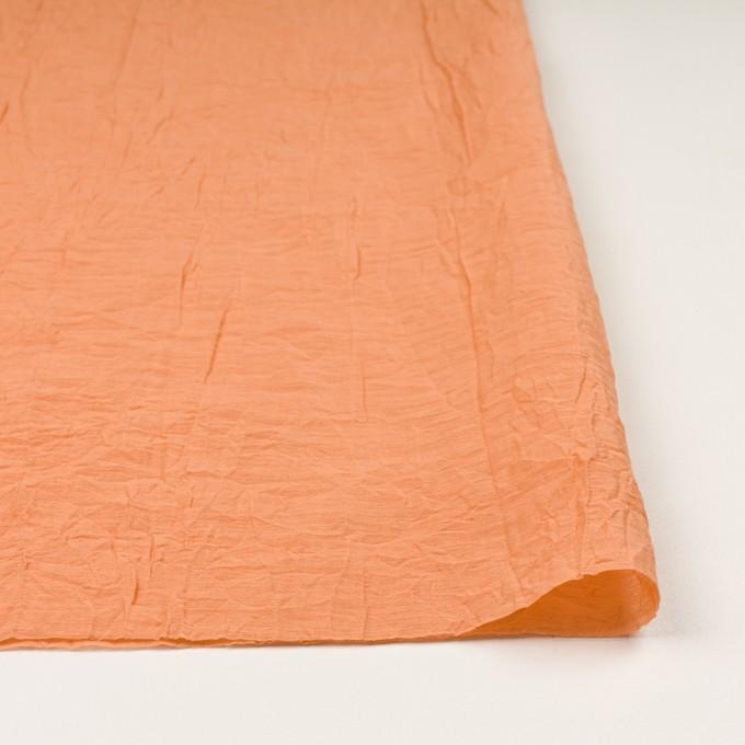 コットン&ナイロン×無地(オレンジ)×オーガンジー・ワッシャー_全3色 イメージ3