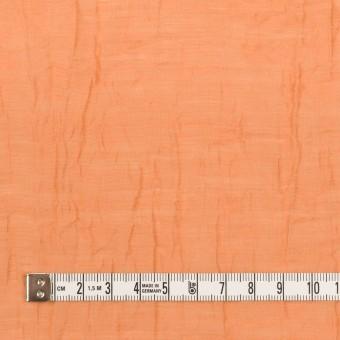 コットン&ナイロン×無地(オレンジ)×オーガンジー・ワッシャー_全3色 サムネイル4