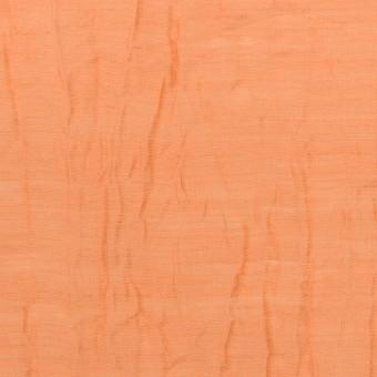 コットン&ナイロン×無地(オレンジ)×オーガンジー・ワッシャー_全3色