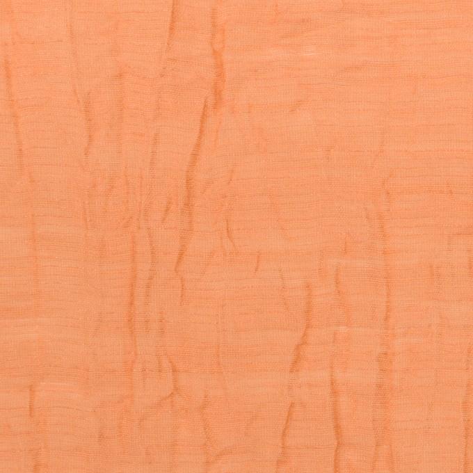コットン&ナイロン×無地(オレンジ)×オーガンジー・ワッシャー_全3色 イメージ1