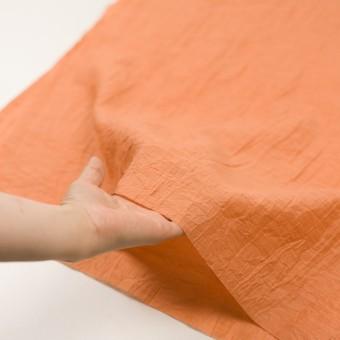 コットン&ナイロン×無地(オレンジ)×オーガンジー・ワッシャー_全3色 サムネイル5