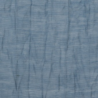 コットン&ナイロン×無地(アッシュブルー)×オーガンジー・ワッシャー_全3色