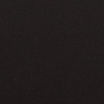コットン×無地(ブラック)×ギャバジン