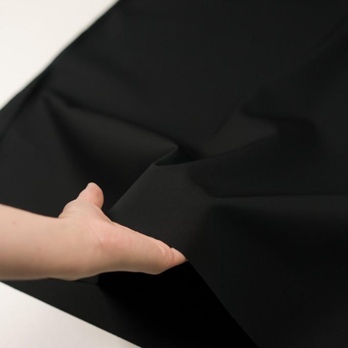 コットン×無地(ブラック)×チノクロス イメージ5