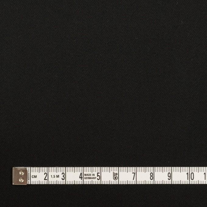 コットン×無地(ブラック)×チノクロス イメージ4