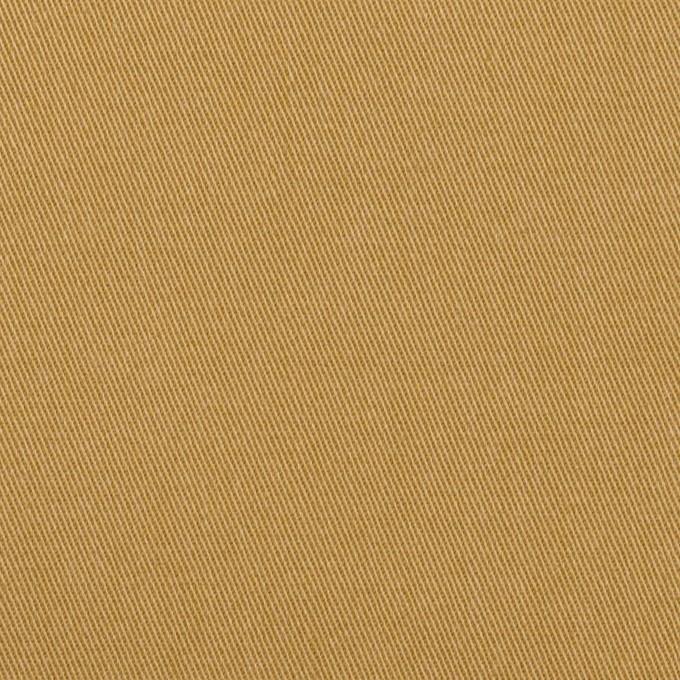 コットン&ポリウレタン×無地(チャイ)×チノクロス イメージ1
