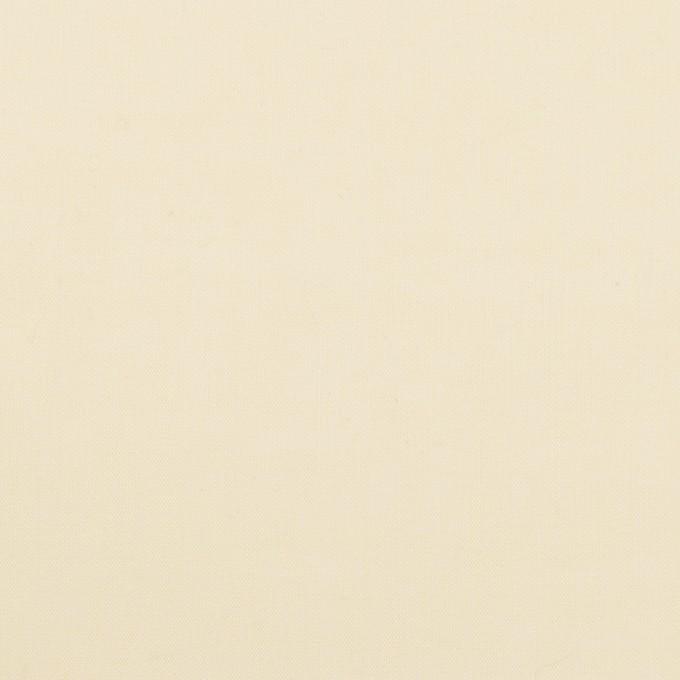 コットン×無地(カスタード)×ボイル イメージ1