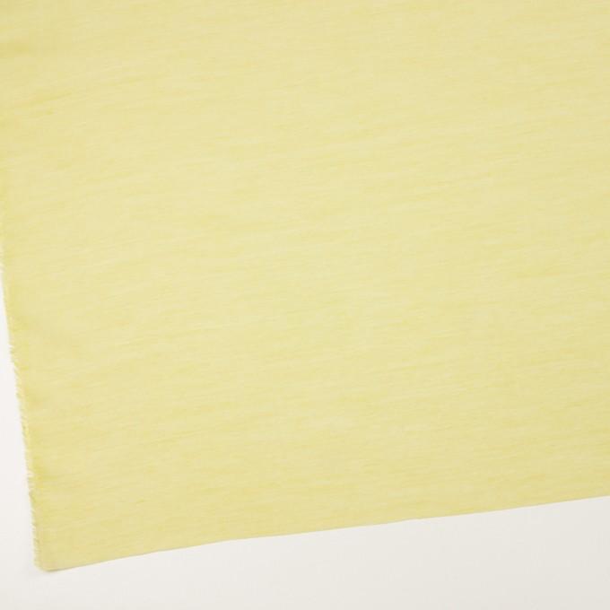 コットン&レーヨン×無地(レモン)×ボイル イメージ2
