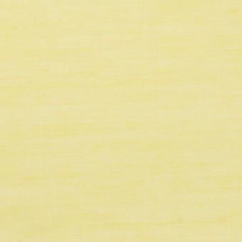 コットン&レーヨン×無地(レモン)×ボイル